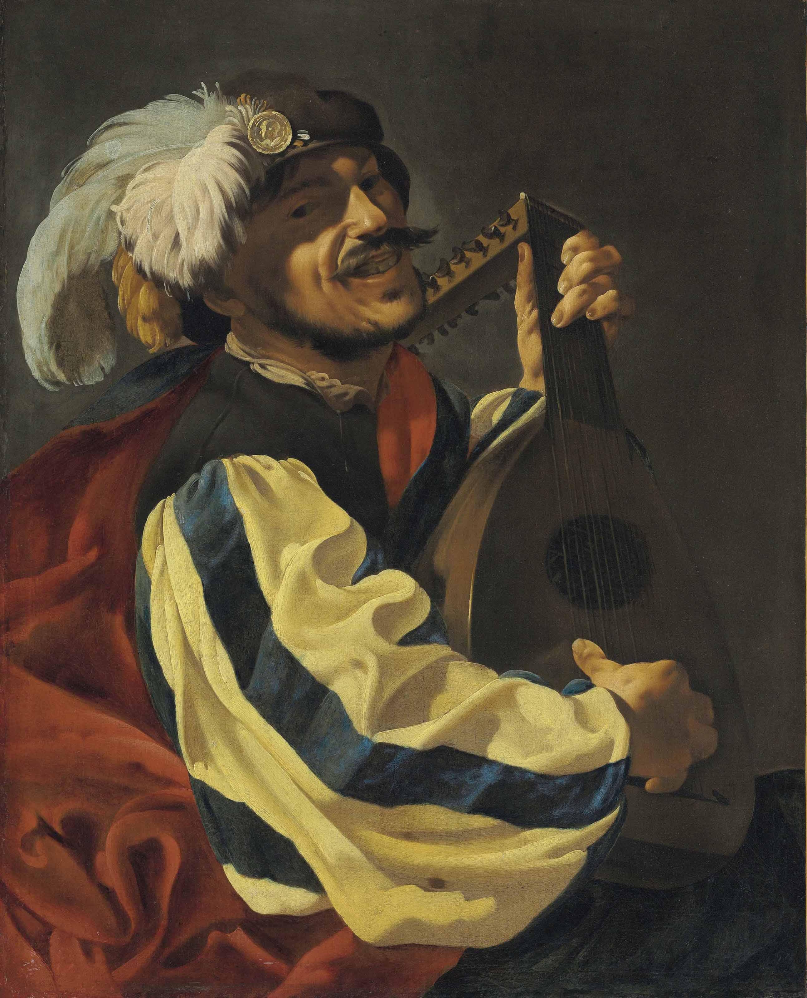 terbrugghen 1626 ca Joueur de luth coll priv et chateau musee de Boulogne sur mer