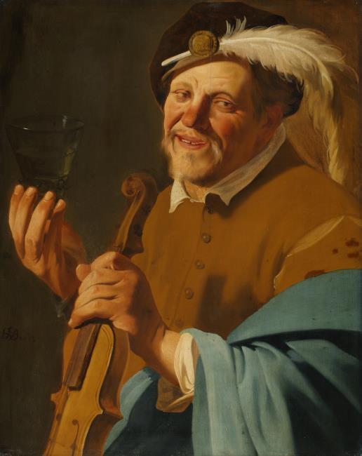 terbrugghen (suiveur) 1633 Flutiste2 Staatliches Museum Schwerin