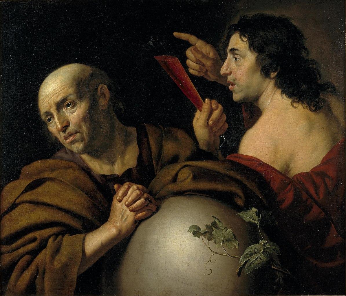 van Bijlert 1640 ca Heraclitus and Democritus Centraal_Museum Utrecht
