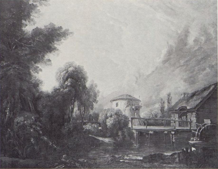 Boucher 1743 Paysage au Colombier coll privee Londres