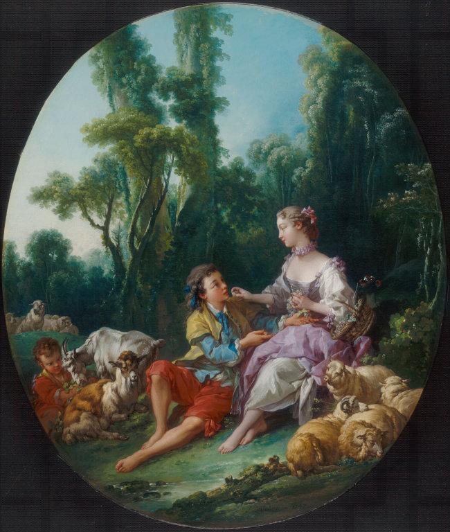 Boucher 1746 Pensent-t-ils au raisin Arts Institute Chicago