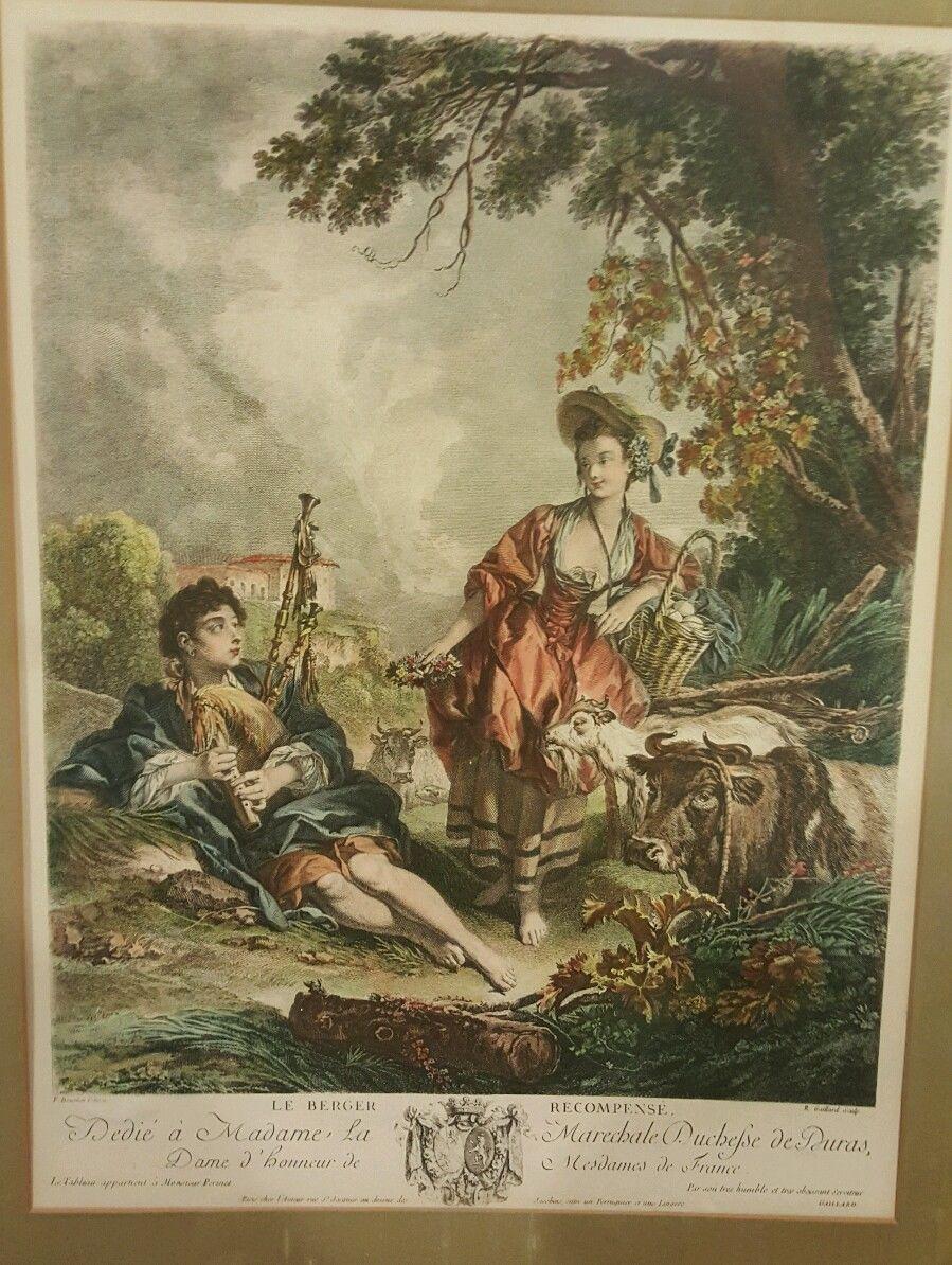 Boucher 1748 Le berger recompense g
