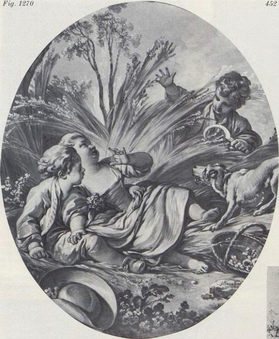 Boucher 1759 La surprise coll priv