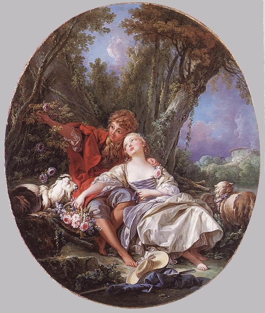 Boucher 1761c Shepherd_and_Shepherdess_Reposing_Wallace collection
