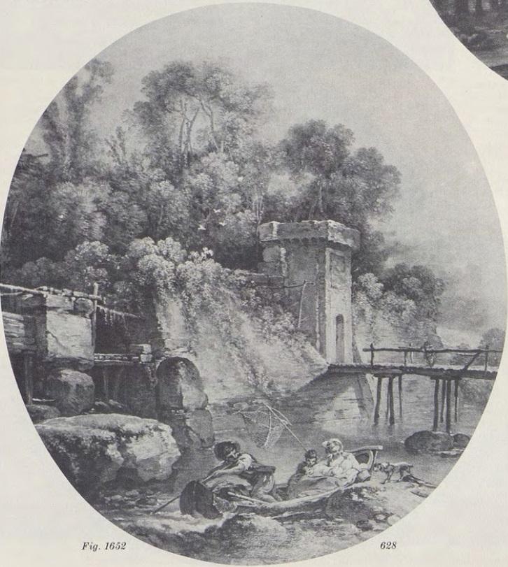 Boucher 1766 Le départ pour la pêche coll part