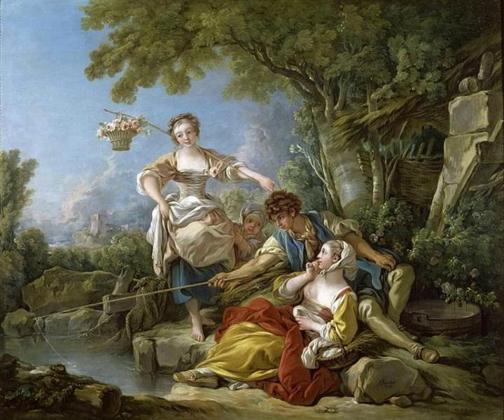 Boucher 1767 La peche Grand Trianon