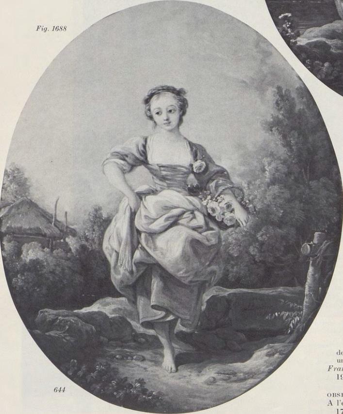 Boucher 1767a La bergere au panier coll part