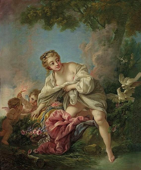 Boucher 1767c Venus et les amours coll part