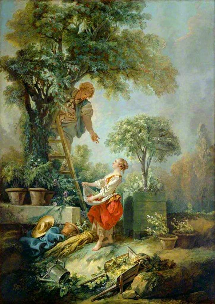 Boucher 1768 La cueillette des cerises Kenwood House, Londres