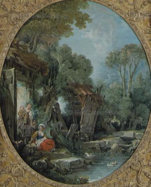 Boucher 1769c le cours d'eau Coll priv