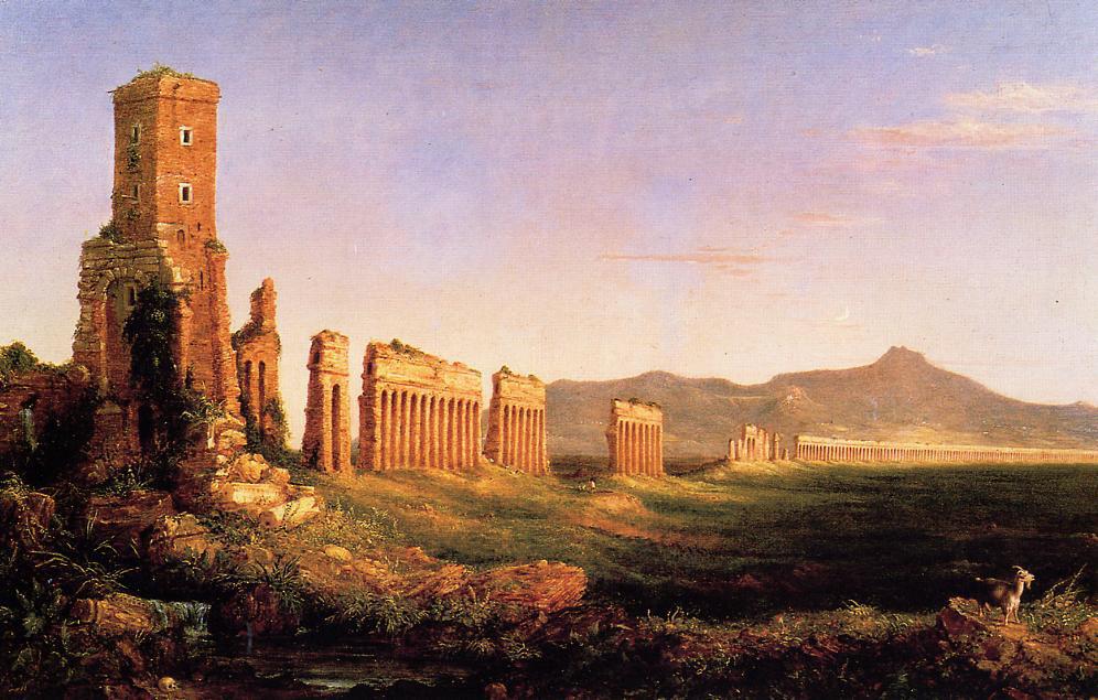 Cole 1832 Aqueduct_near_Rome Kemper Art Museum St. Louis, Missouri.