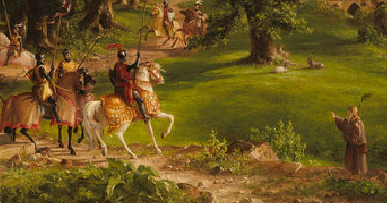 Cole 1838 the-departure detail