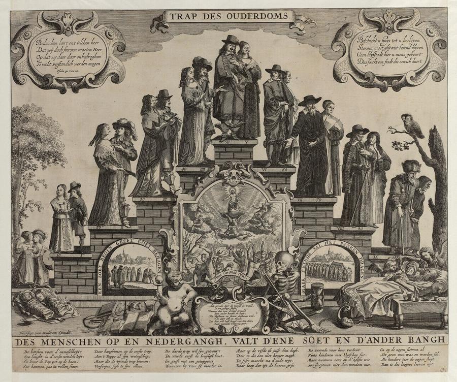 Escalier de la vieillesse couple(Trap des ouderdoms) Francoys van Beusekom 1612 - 1652