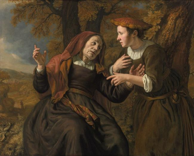 Jan Victors 1653 Ruth et Naomi coll priv