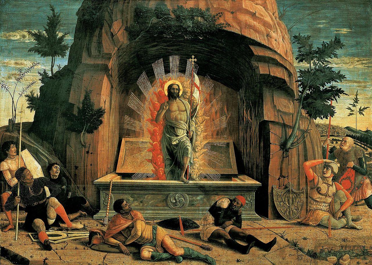 Mantegna 1459 La résurrection Musee des BA Tours