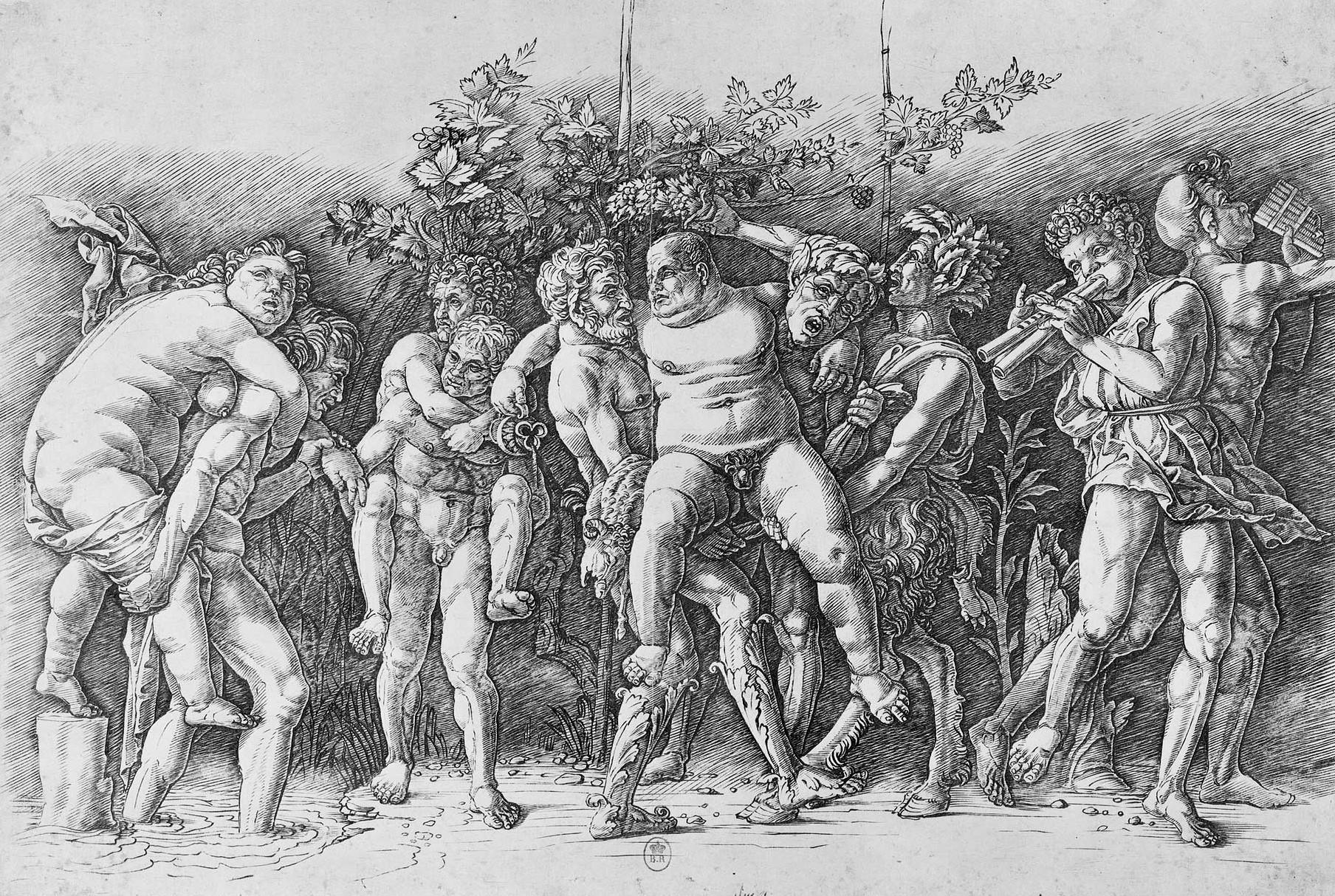 Mantegna 1481 a _baccanale_con_sileno
