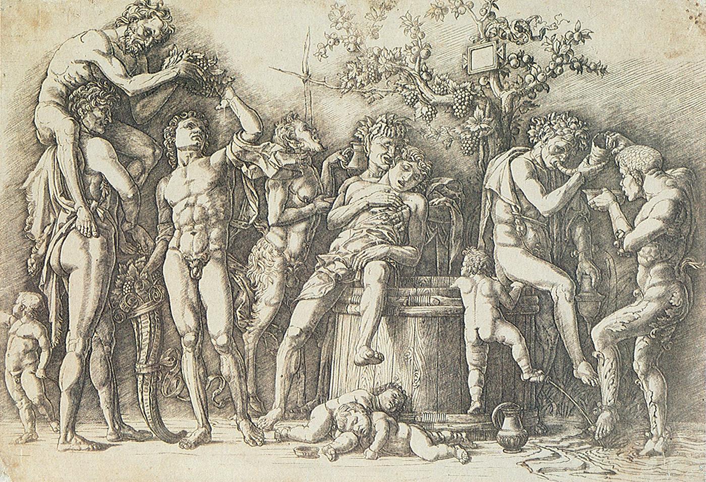 Mantegna 1481 av baccanale_con_un_tino