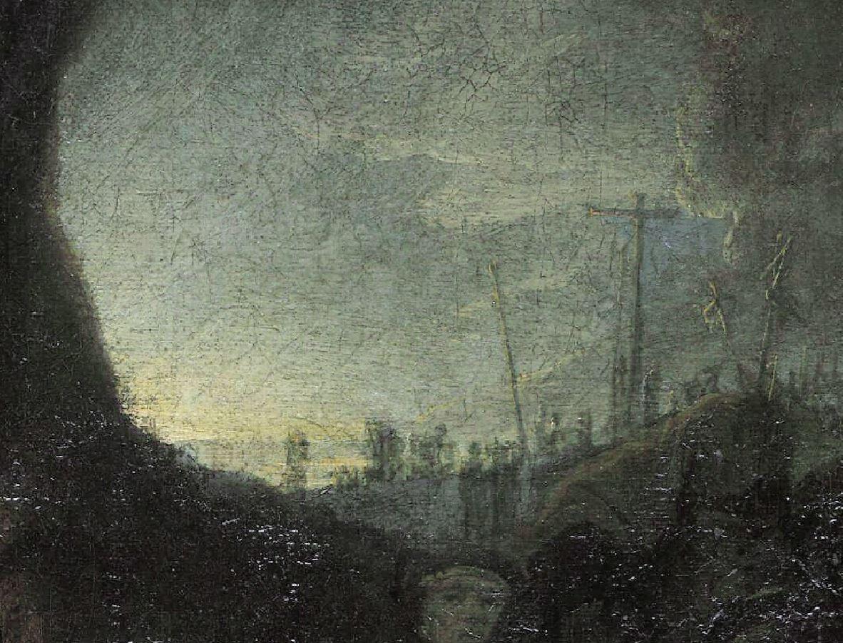 Rembrandt 1636-39 Mise au tombeau Alte Pinakothek Munich lumiere1