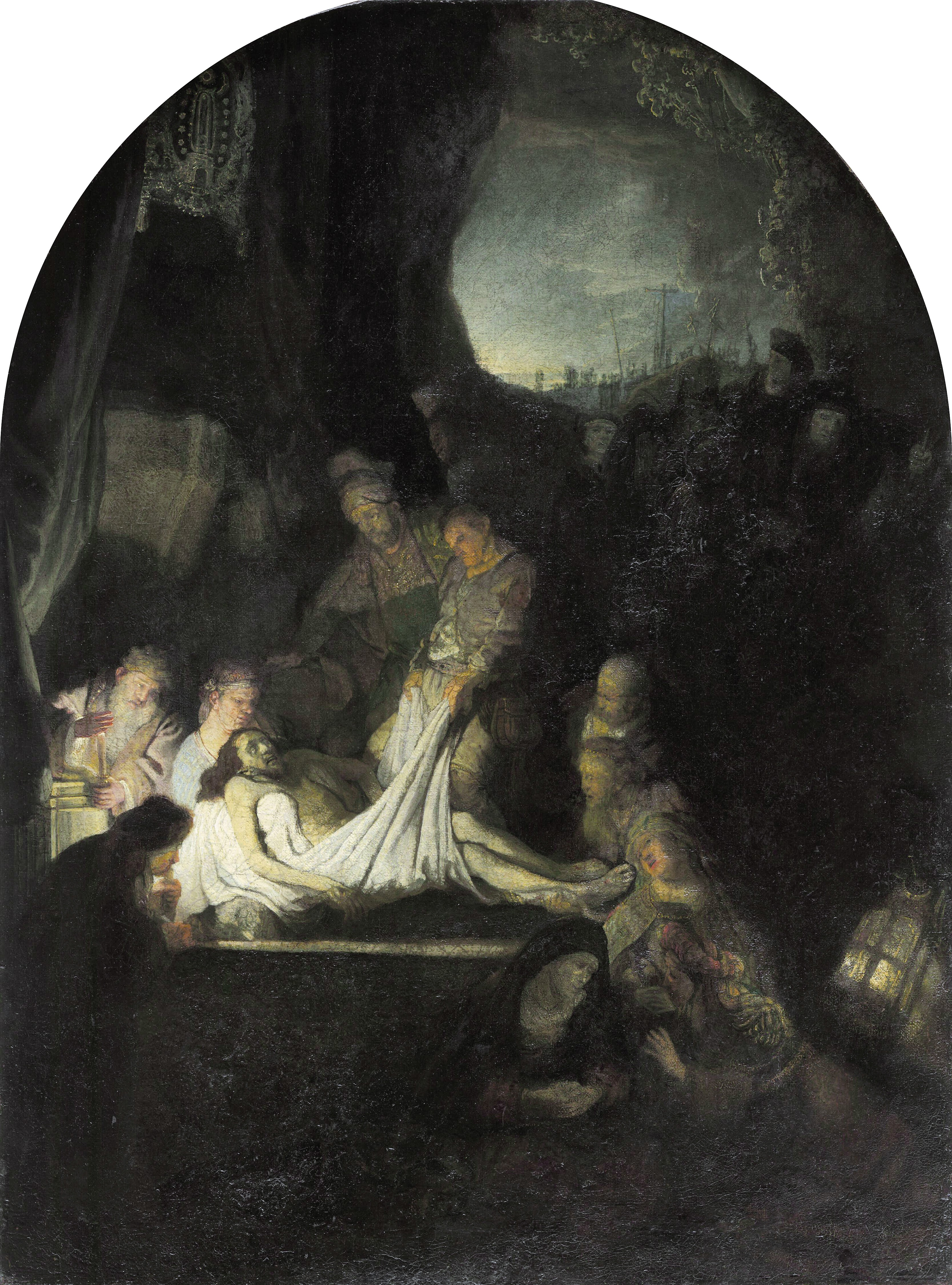 The entombment, by Rembrandt