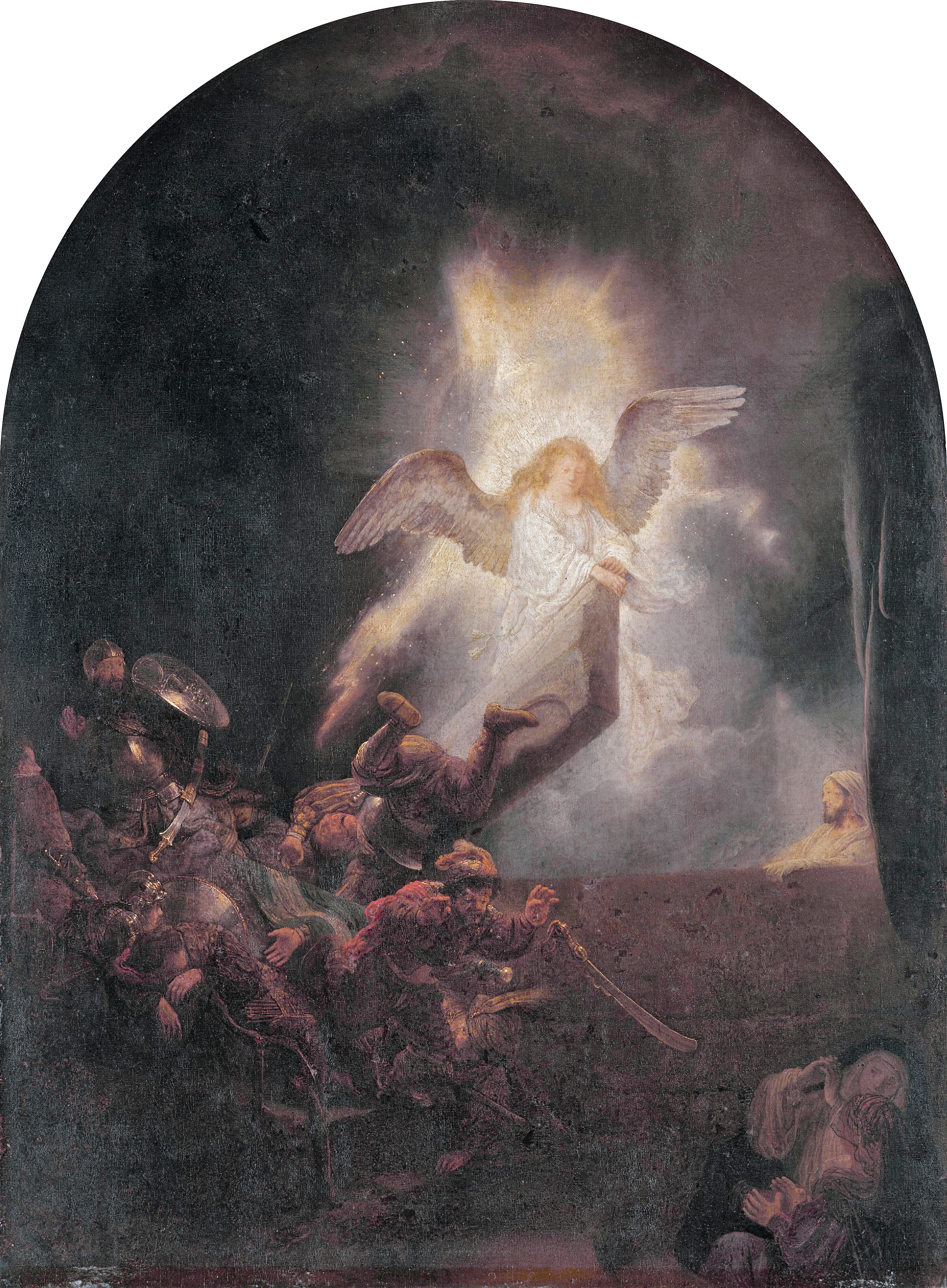 The Resurrection, by Rembrandt