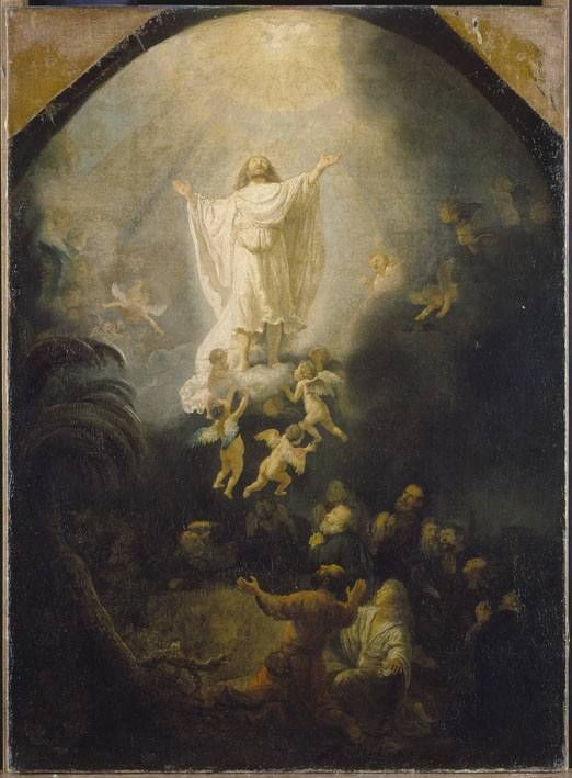Rembrandt 1636 Ascension Alte Pinakothek Munich