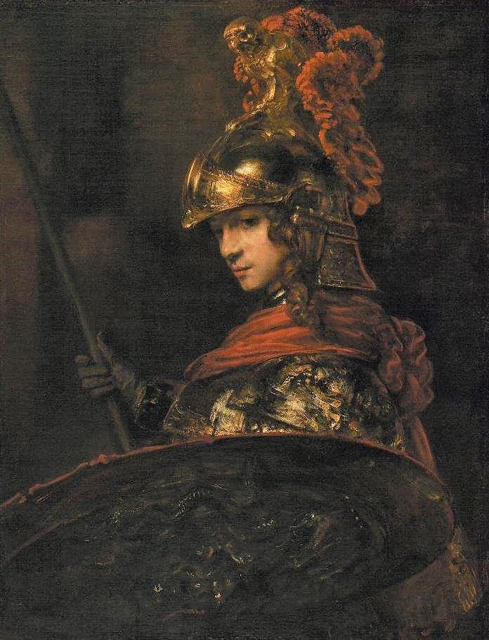 Rembrandt 1655 Pallas Athene Musee Gulbenkian