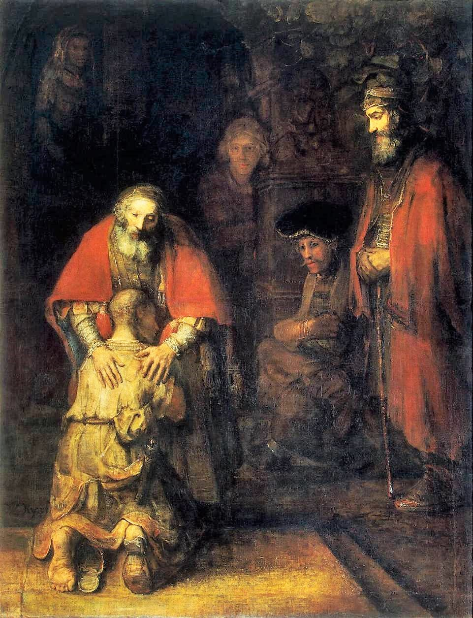 Rembrandt 1668 ca The_Return_of_the_Prodigal_Son Ermitage