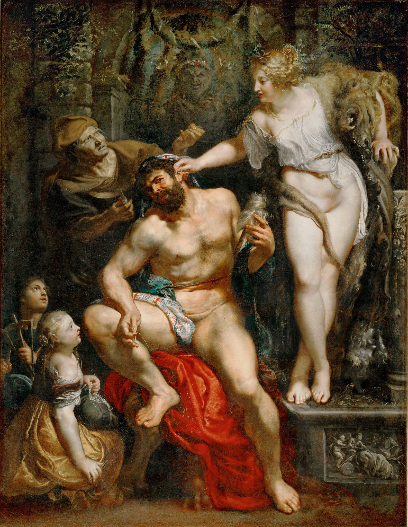 Rubens 1602-05 Hercules_and_Omphale_-_ Louvre
