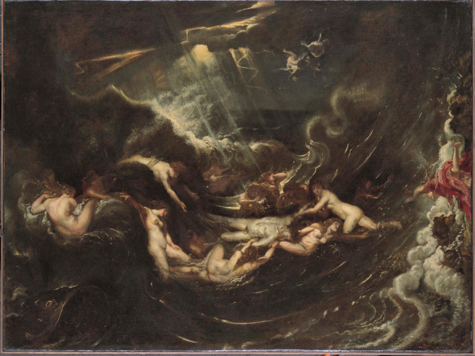 Rubens 1604-05 Hero and Leander Yale University Art Gallery