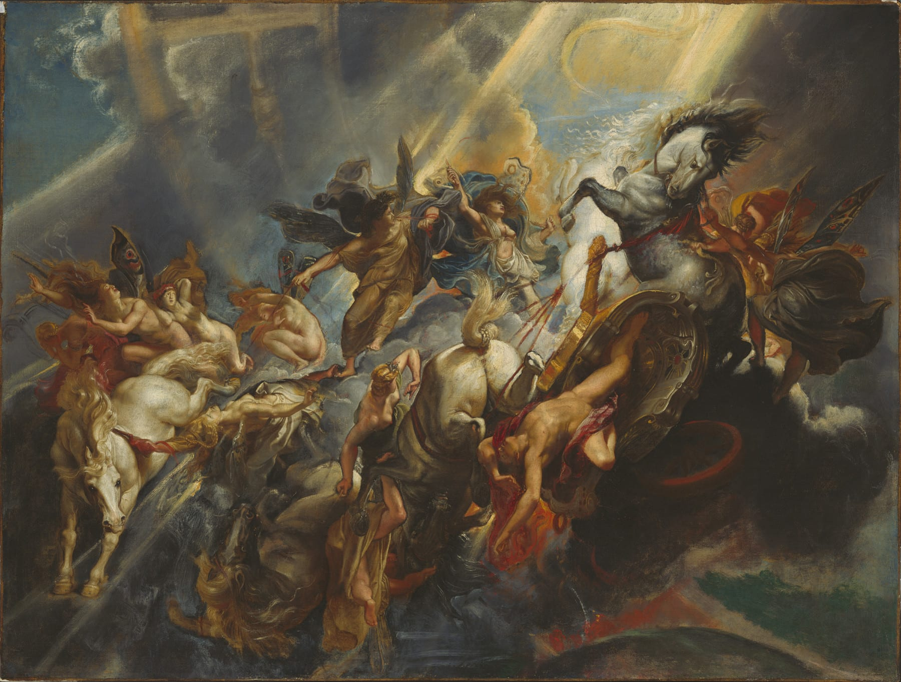 Rubens 1604-05 The-Fall-of-Phaeton NGA