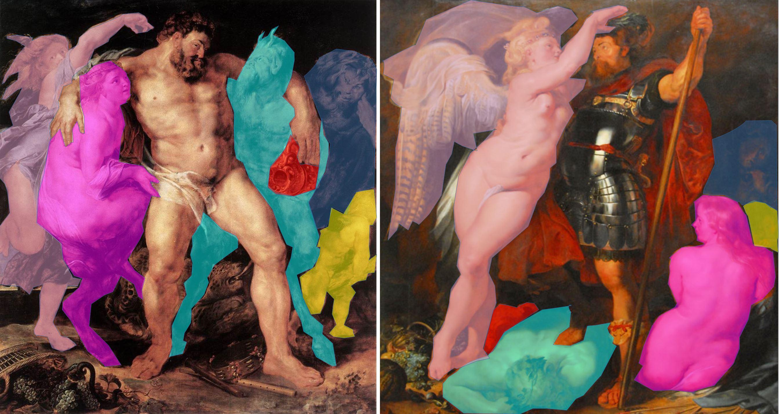 Rubens 1612-14 Hercule iet Heros schema