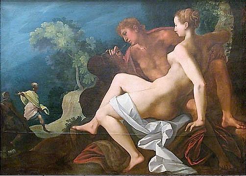 Toussaint Dubreuil 1580-1600 Angelique et Medor Louvre