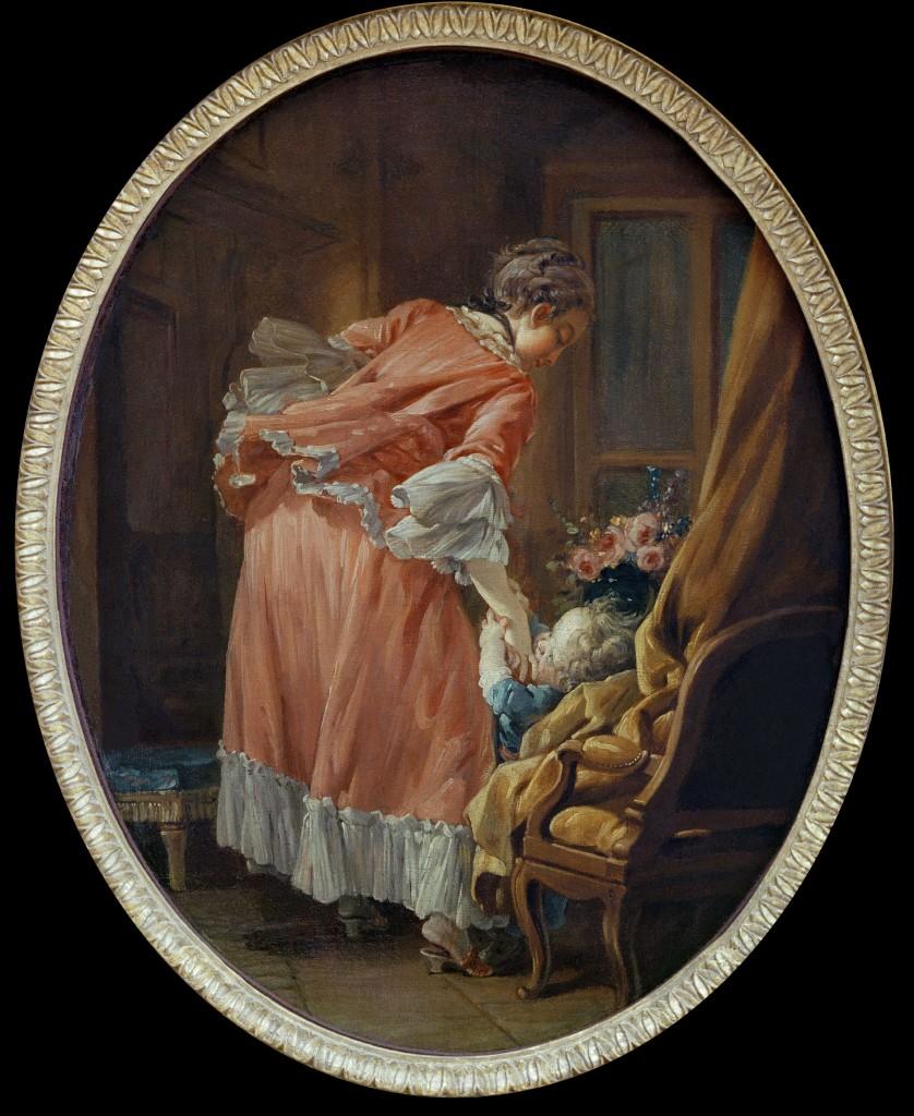 boucher 1742 L enfant gate