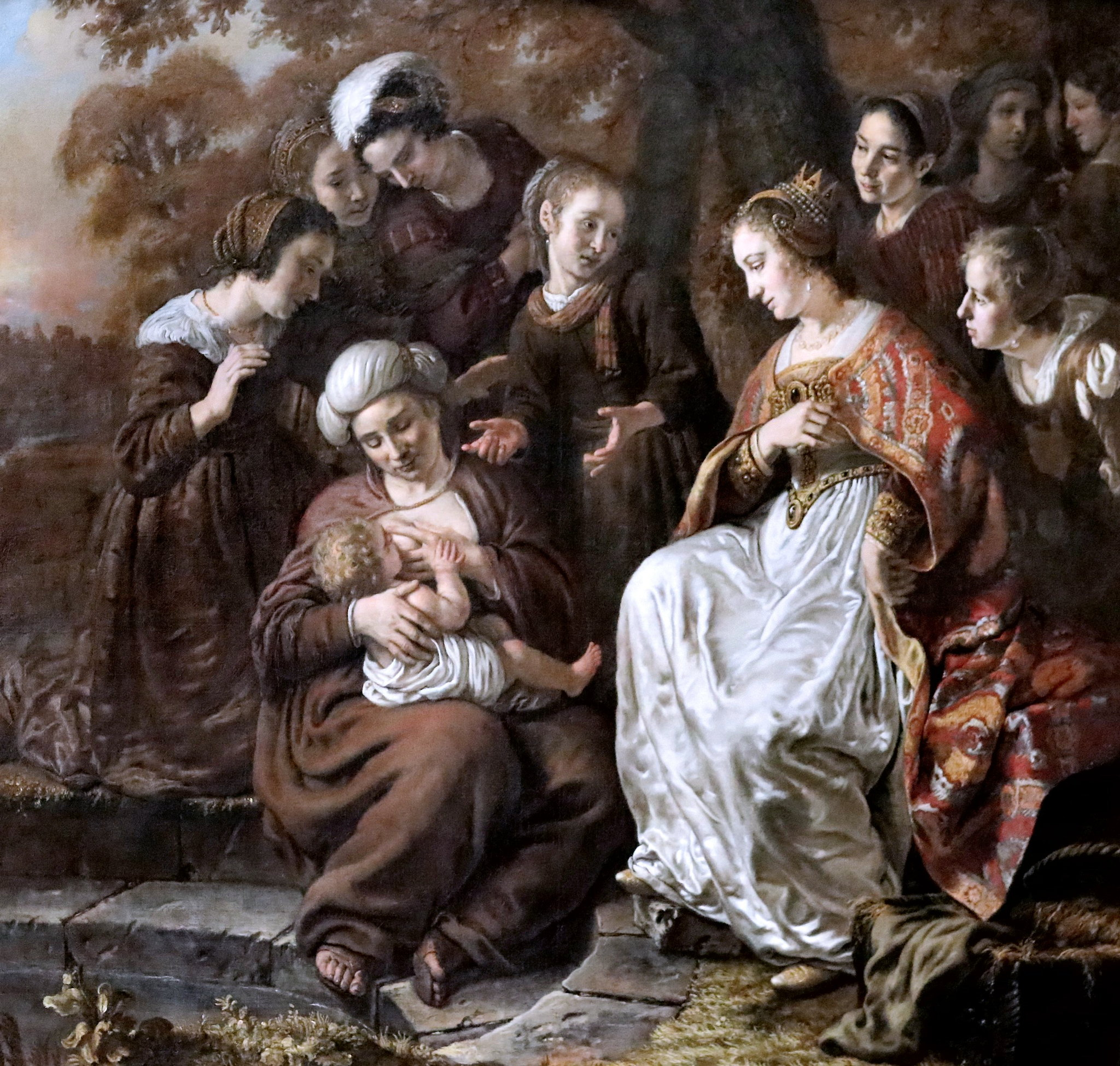 jan victors 1653 The Finding of Moses Gemaldegalerie Alte Meister Dresde photo JL Mazieres