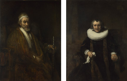 rembrandt 1661 ca portrait-of-Jacob Trip -and-margaretha_Margaretha de Geer National Gallerx