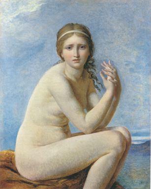 David 1787-95 Psyche abandonnee coll priv 80 x 63 cm