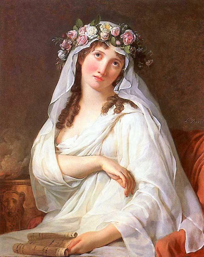 David 1787 La Vestale coll priv 81,3 × 65,4 cm