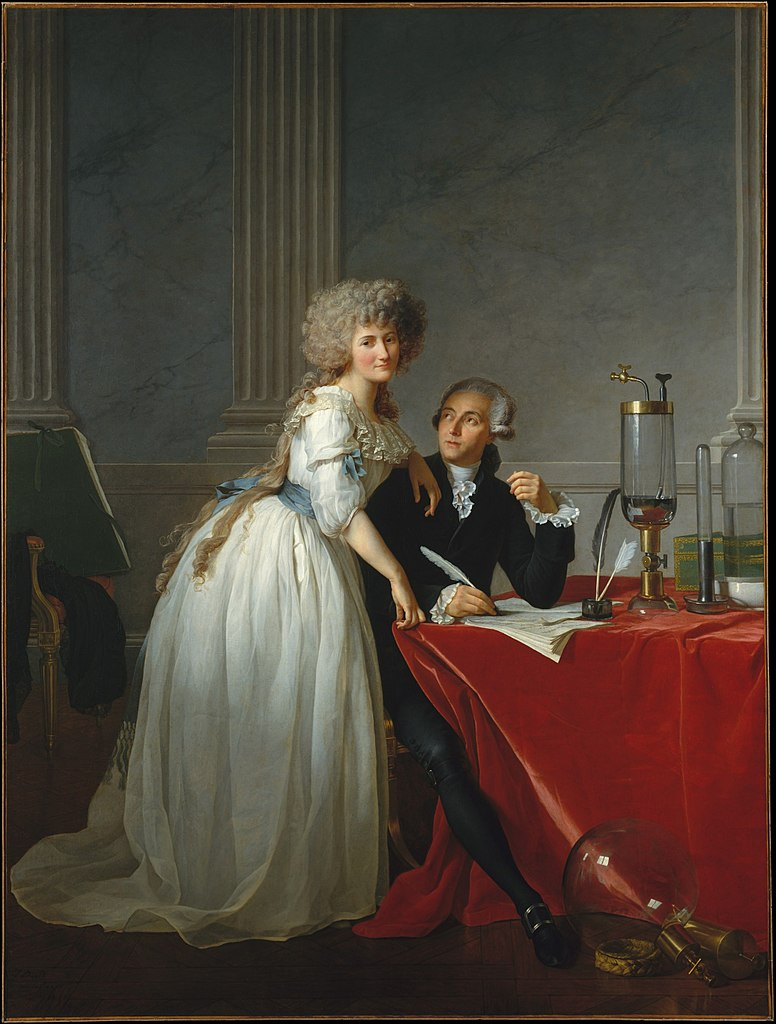 David 1788 Portrait_of_Monsieur_Lavoisier_and_His_Wife MET