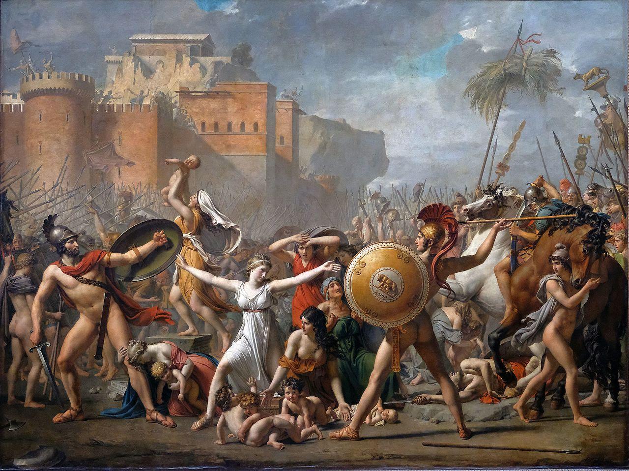David 1799 Sabines Louvre