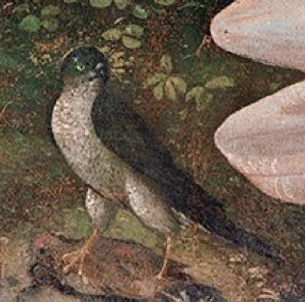 Piero di Cosimo 1490 Chute de Vulcain, Wadsworth Atheneum detail