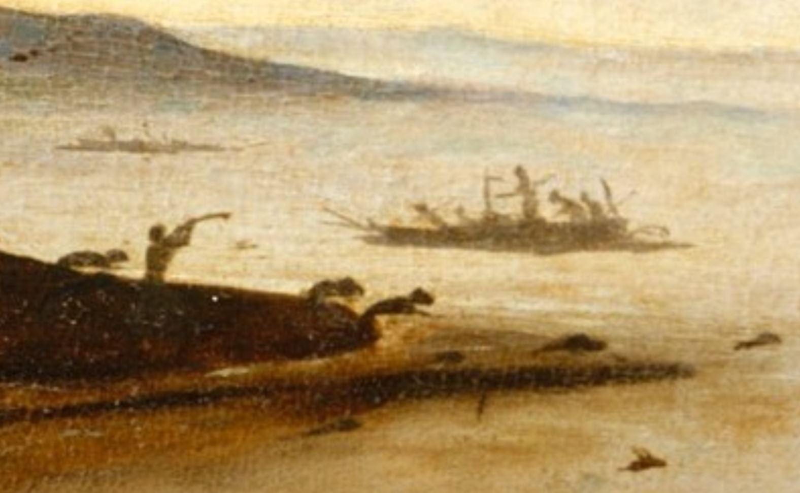 Piero di Cosimo 1494–1500 MET retour de la chasse detail4