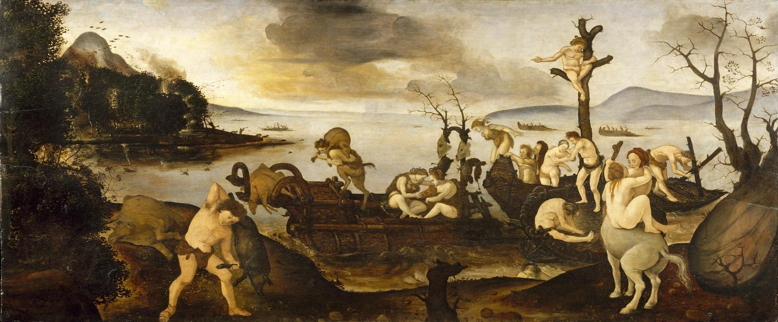 Piero di Cosimo 1494–1500 MET retour de la chasse
