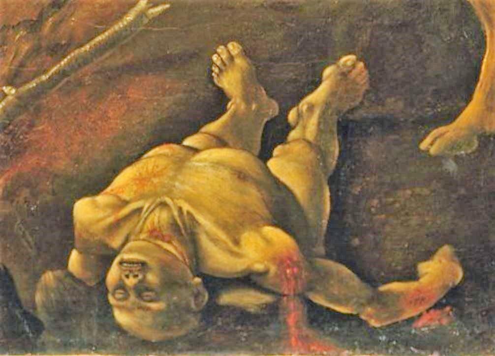 Piero di Cosimo 1494–1500 MET scene de chasse detail3