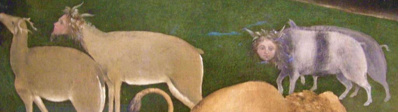 Piero di Cosimo 1505 ca La foret en feu ashmolean museum oxford detail2