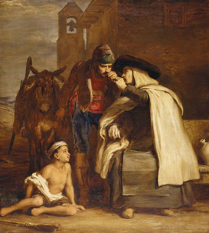 Sir David WilKie The guerilla departure 1828 Royal Collection Trust