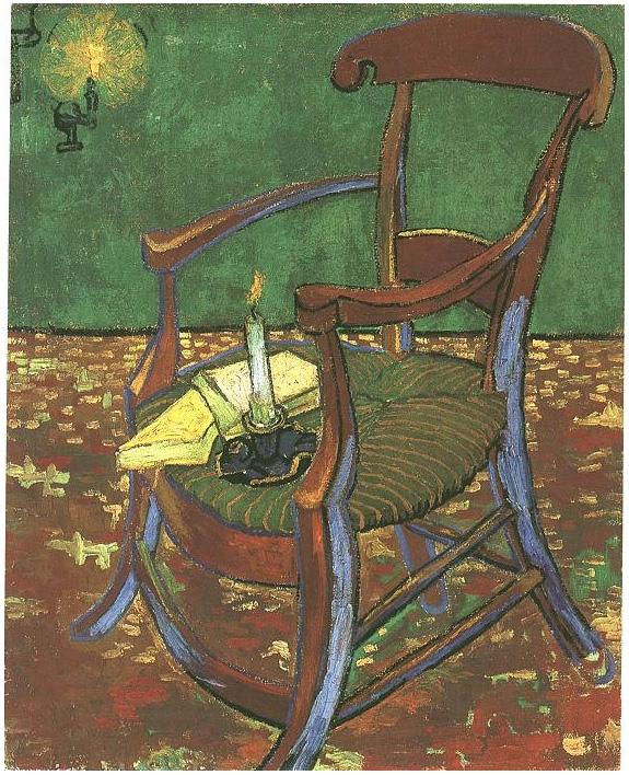 Van Gogh 1888 11 Paul-Gauguin's-Armchair Van Gogh Museum Amsterdam