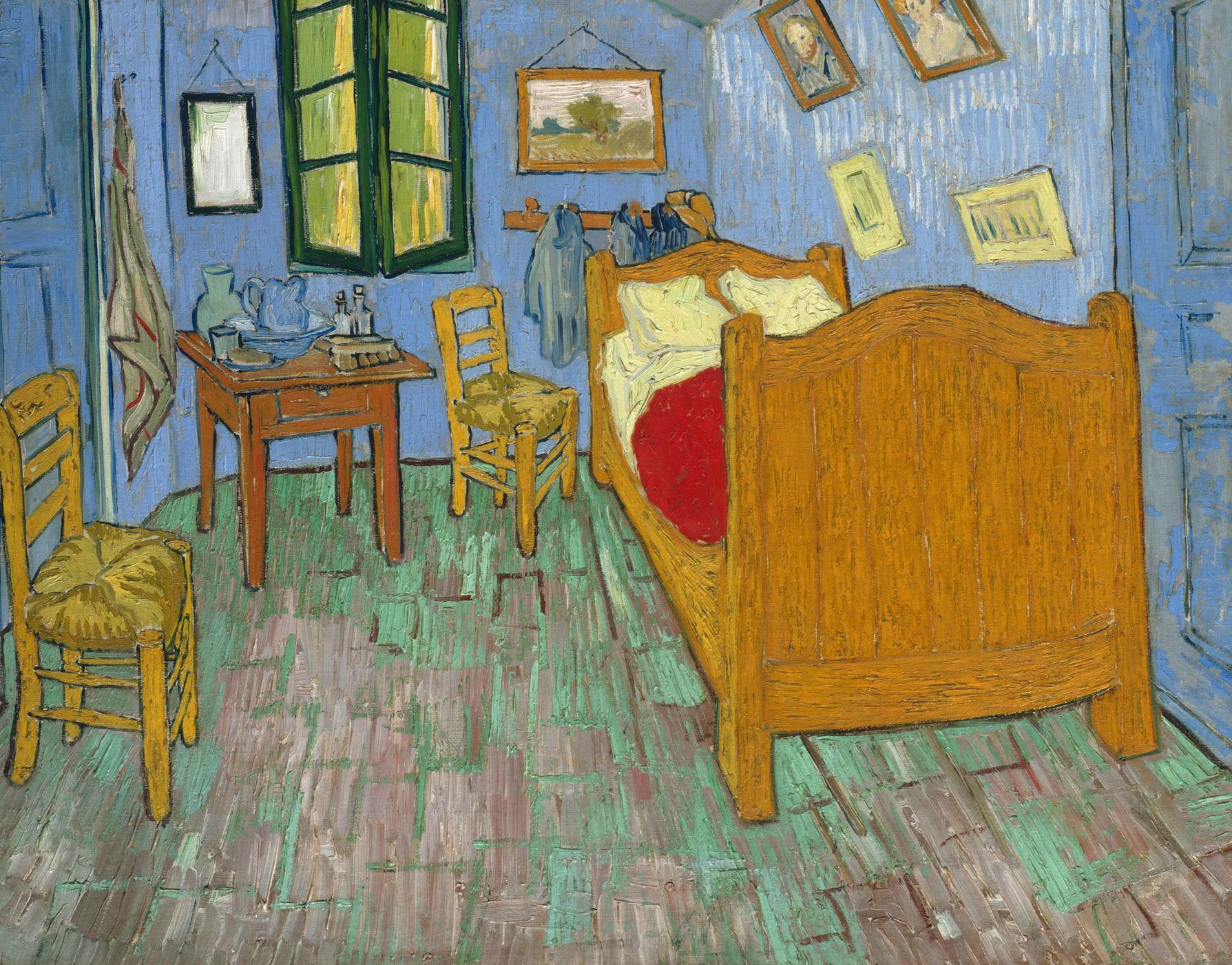 Van Gogh 1888 La chambre à coucher Van Gogh Museum F482
