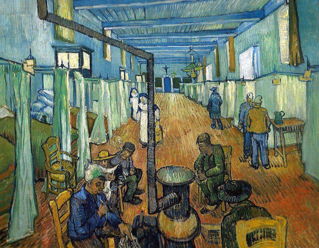Van Gogh 1889 April Dortoir a l'hopital d'Arles , Sammlung Oskar Reinhart, Winterthur (F646)