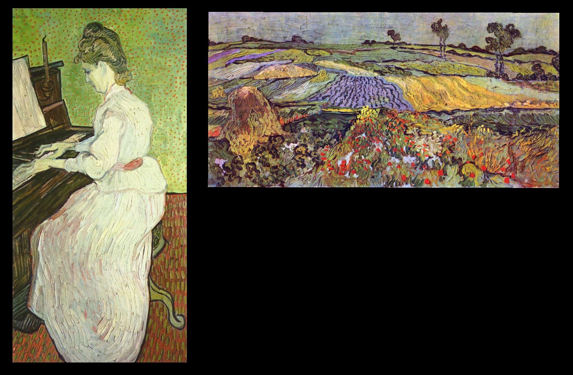 Van Gogh 1890 Fille Gachet schema