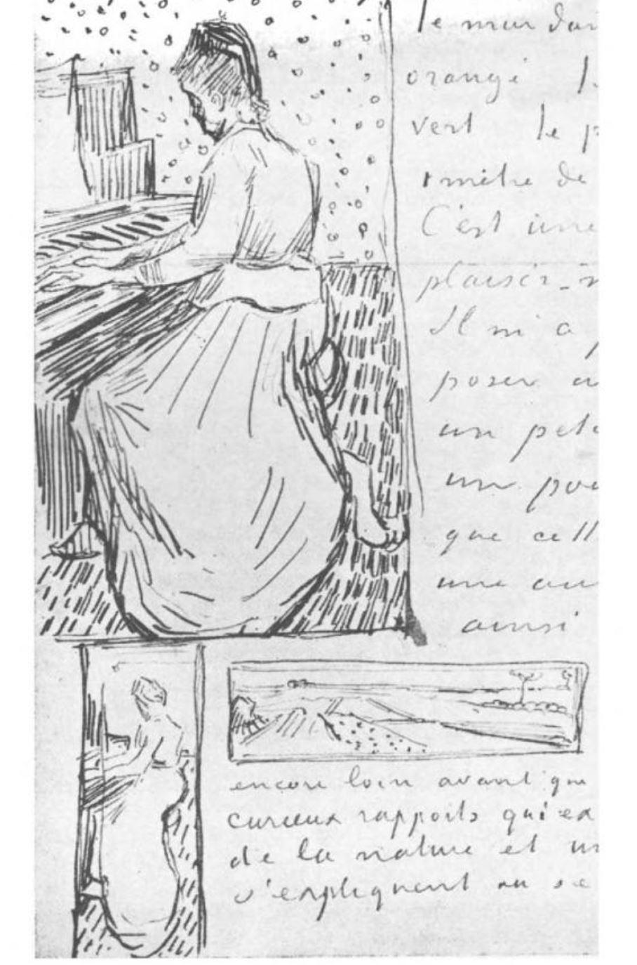Van Gogh 1890 Lettre a Theo 24 juin